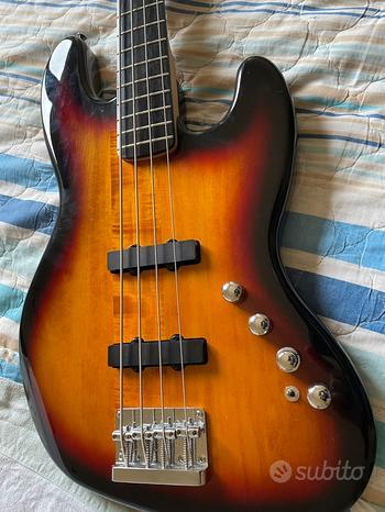 Basso Elettrico Squier Deluxe IV Jazz Bass NUOVO