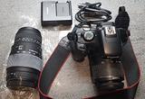 Canon eos 1100D + 18/55 + 70/300