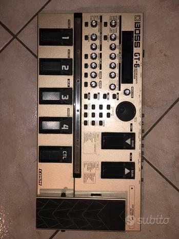 Pedaliera Boss GT6