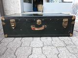 Coppia valigie vintage profilo metallo extra lusso