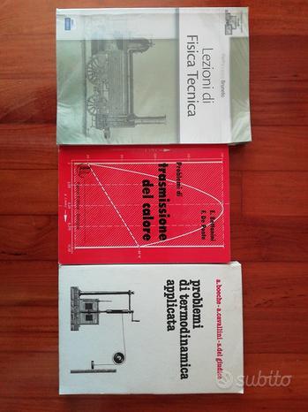 Libri di Fisica Tecnica per Ingegneria UniPd
