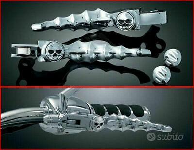 Leve Manubrio Skull Zombie CROMO Harley Davidson S