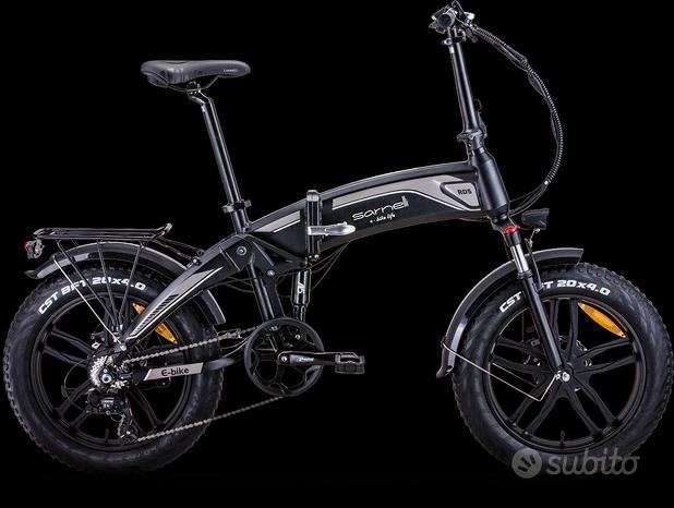 Bicicletta Sarnelli Fat bike elettrica Rd5 ASSIST