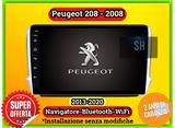Autoradio Navigatore Wifi Peugeot 208 - 2008