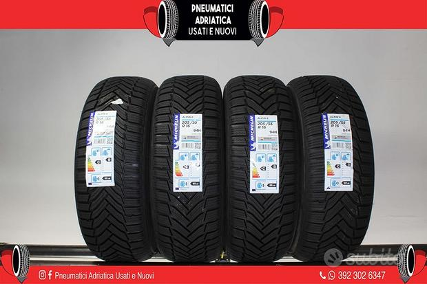 4 Gomme NUOVE 205 55 R 16 Michelin SPED GRATIS