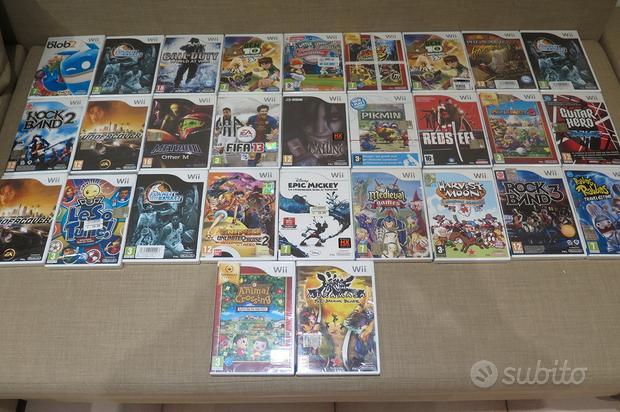 Giochi Wii originali Nintendo compatibili con WiiU