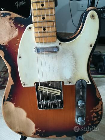 Telecaster Relic Simil Fender (spedizione)