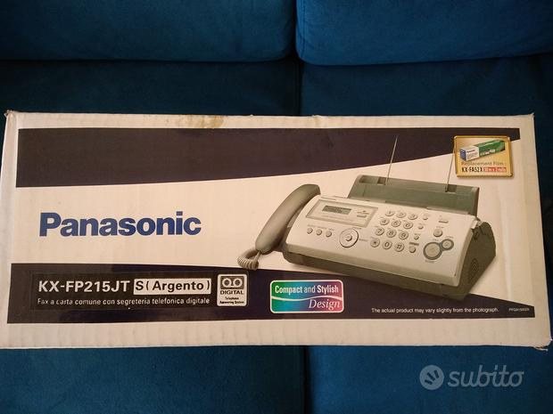 Panasonic KX-FP215JT - FAX e SEGRETERIA