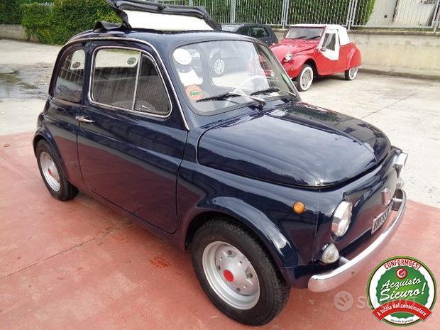 FIAT 500 BERLINA 110 F.  ISCRITTA ASI