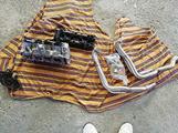 Gsxr 1000 k4 k5 testata e scarico e motore