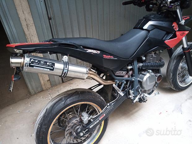 Suzuki yamaha scooter promo msr omologato scarico
