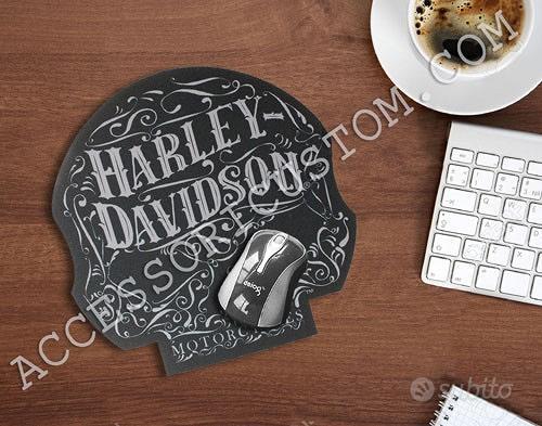 Tappetino Mouse Pad Harley Davidson Sugar Skull Ga