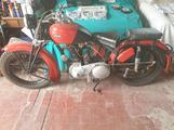 Ariel 500 sidecar