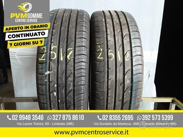 Gomme usate 205 55 17 65h continental