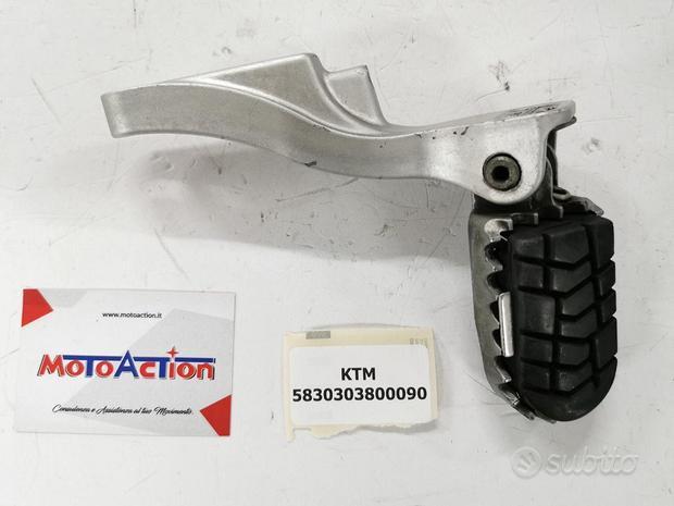 Supporto + Pedana KTM 640 LC4 SM Supermoto