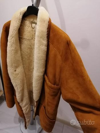 Cappotto Montone Uomo TG 52 Original Shearling