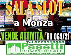 SALA SLOT a Monza