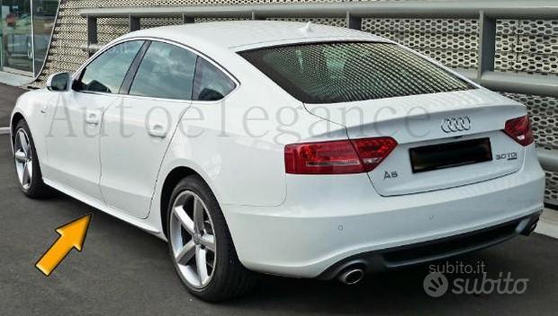 Audi a5 2006+ s5 s-line spoiler minigonne laterali