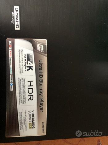 Blu Ray Samsung 4K UHD