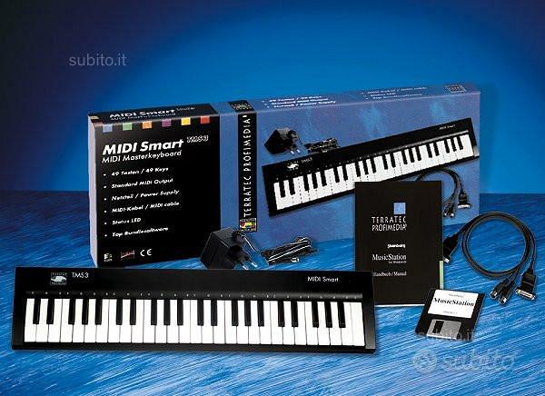 Tastiera Terratec Midi Smart TMS3