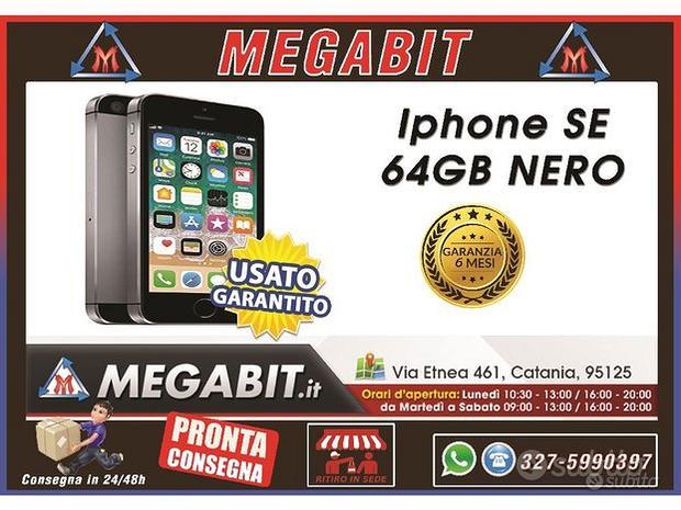 Iphone se 64gb Nero