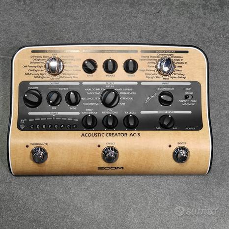 ZOOM AC3 Acoustic Creator -