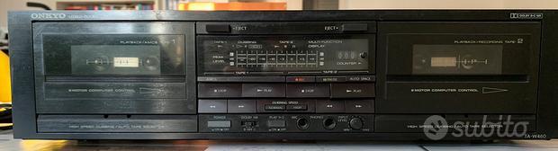 Hifi Onkyo TA-W460 doppio registratore a cassette