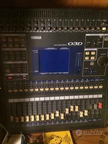 Yamaha 03D mixer digitale