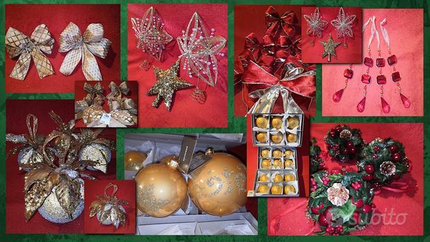 Decorazioni Addobbi Natale Nuovi