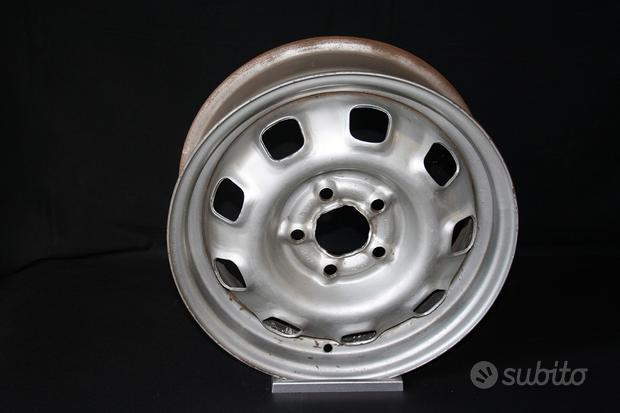 4 cerchi ferro Volvo P1800 5,5x15