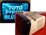 TV Brionvega Algol 11 vintage anni 60 grigio funge