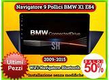 Navigatore car tablet 9 pollici BMW X1 2009-2015