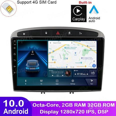 ANDROID autoradio navigatore Peugeot 308 408 GPS