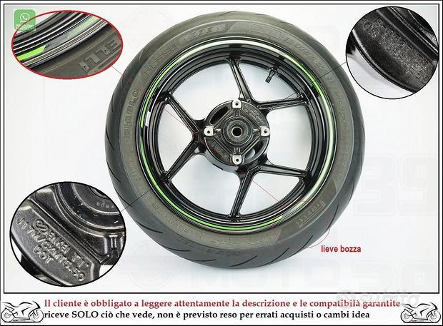 Cerchio posteriore Kawasaki z 800 abs 12 16