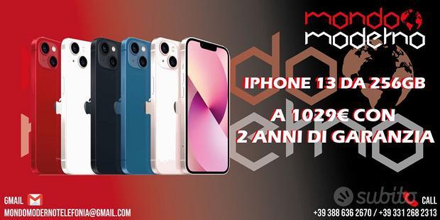 IPhone 13 256gb Nuovo 24 Mesi di Garanzia