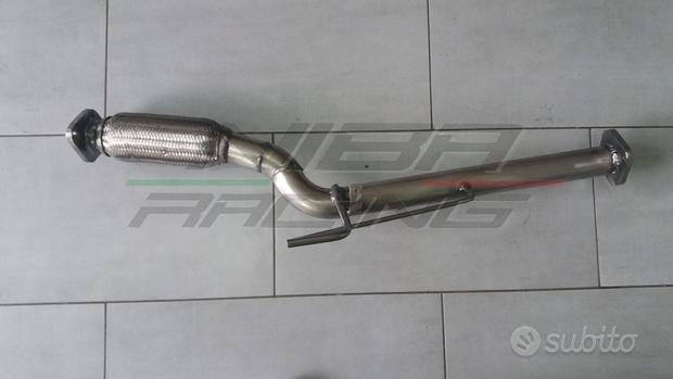 Downpipe tubo rimozione dpf nissan qashqai 1.5 dc