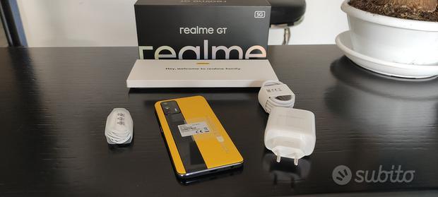 REALME GT 5G yellow - 256Gb Memoria 12Gb RAM