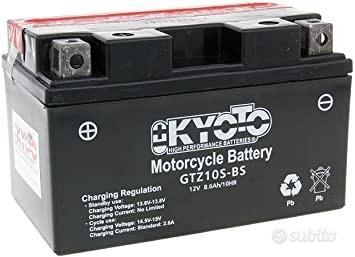 Batteria kyoto ytz10s-bs 12v 8.6ah acido moto ktm