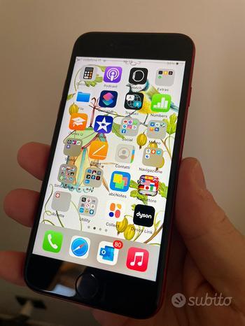 Apple iPhone SE 2020 128GB Product Red in garanzia