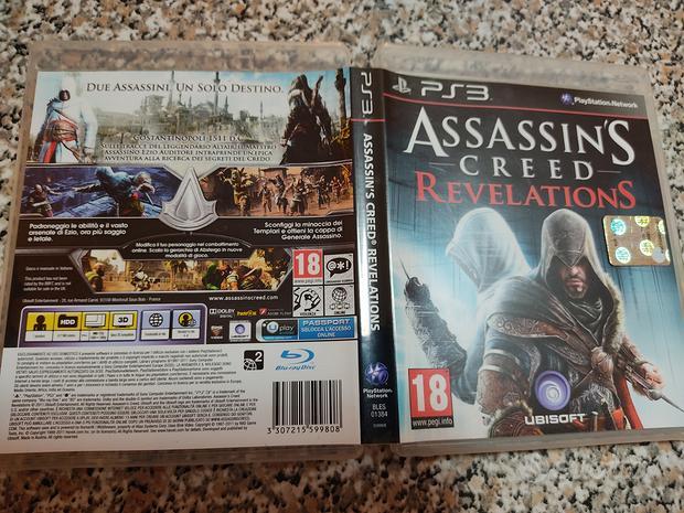 Gioco PlayStation 3 Assassin's Creed Revelations