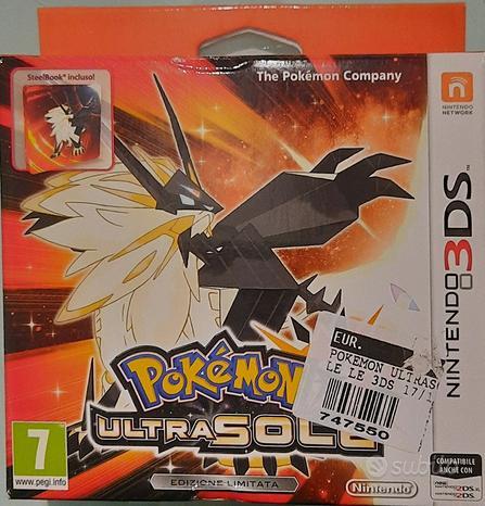 Pokemon Ultrasole Ed. limitata Nintendo 2DS 3DSXL