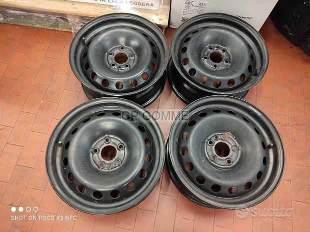 Mazda 4 Cerchi Ferro 16 pollici