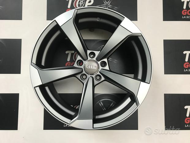 Cerchi rotor 8,jx18 et45 5x100 x audi a1 tt polo