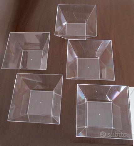 Ciotole in plastica riutilizzabili