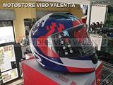Casco integrale ls2 ff397vector FT2 podium fibra