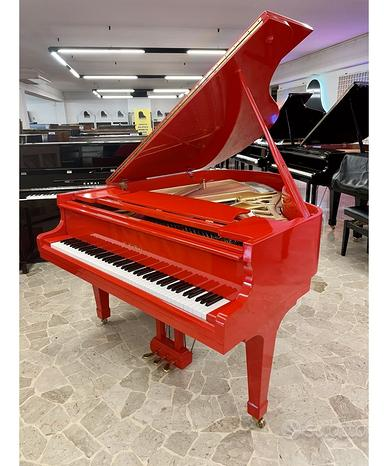 Pianoforte mezza coda kawai mod. kg2 rosso lucido