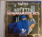The ninja warriors cd taito zuntata sound arcade