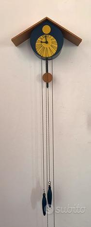 Orologio cucù design 1980-unico /funzionante