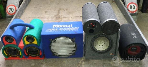 Lotto articoli impianti stereo auto