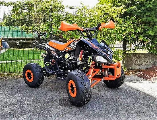 NUOVO QUAD VORTEX R7 125cc ARANCIO RACING